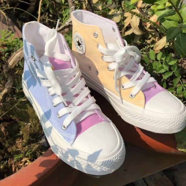 [Hàng Hot] giày nữ cao cổ đổi màu khi ra nắng mẫu hot nhất mùa đông 2019 cho chị em