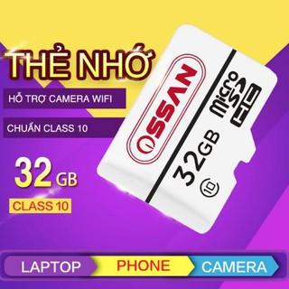 Thẻ nhớ MicroSD 32GB thương hiệu OSSAN - Thương hiệu Nhật thumbnail