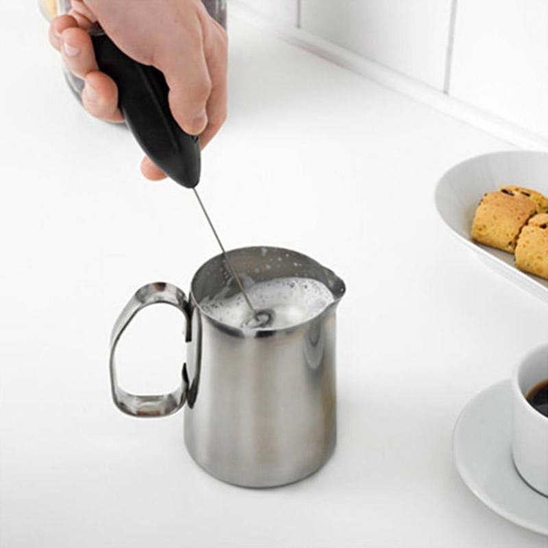 Máy Đánh Trứng Cafe Tạo Bọt Cầm Tay Mini Đa Năng
