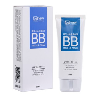 [FSS09Jan hoàn 20% xu] Kem nền trang điểm dưỡng da, chống nắng Ma Thuật Hàn Quốc B.B BENEW MAGIC SNOW WHITE thumbnail