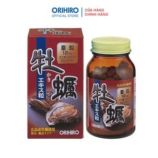 Viên uống tinh chất hàu tươi tăng cường sinh lý Orihiro 120 viên