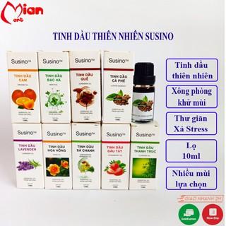 Tinh dầu xông phòng đậm đặc khử mùi phòng, tạo mùi thơm SUSINO 10ML - MIAN MART thumbnail