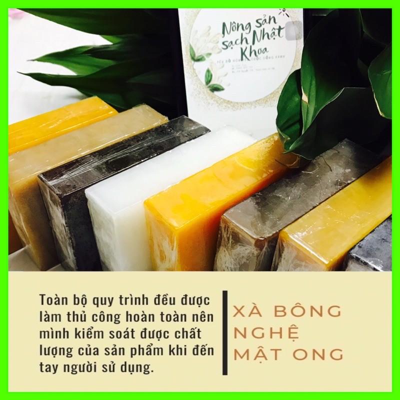 xà bông nghệ mật ong Sinh Dược , soap làm trắng sáng da, an toàn từ thiên nhiên.