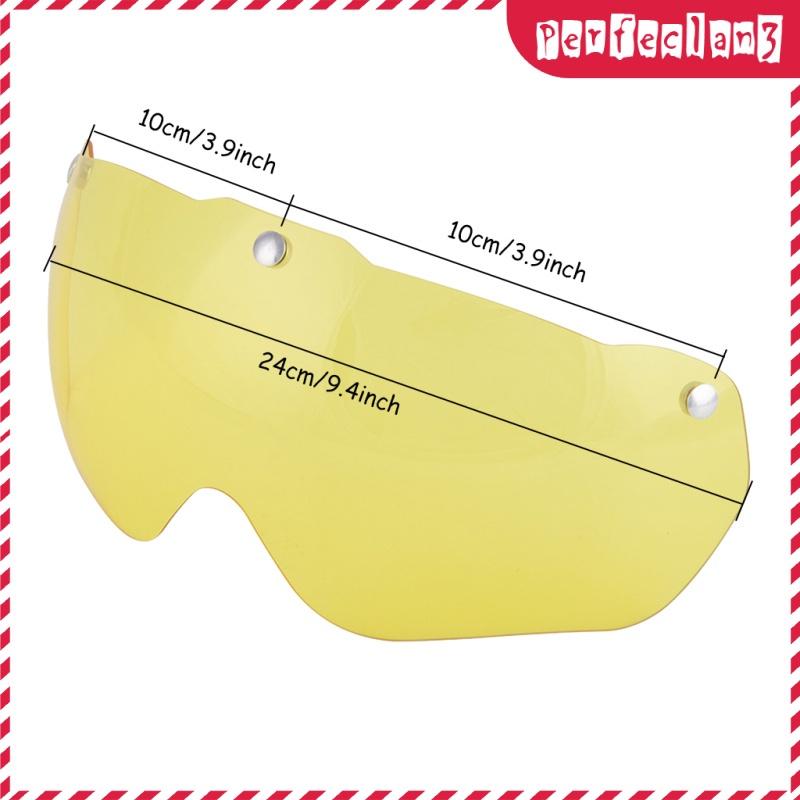 [Thássia Sport Store] 2xBike Eye Lens Triathlon Road Mountain Cycling Lens Yellow