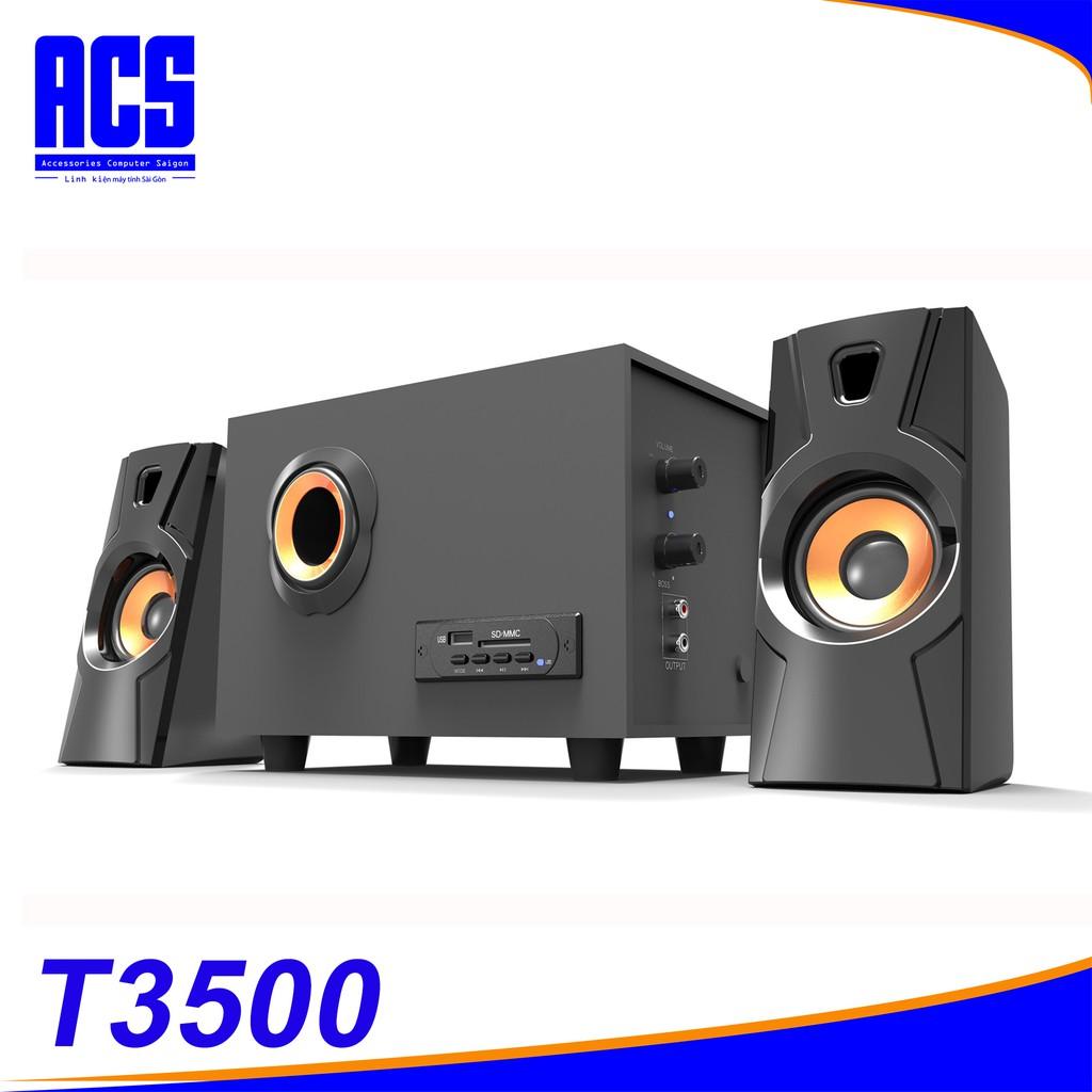 Loa Bluetooth Bosston T3500-BT 2.1- Led RGB- Bảo Hành 12 THáng Giá chỉ 328.000₫