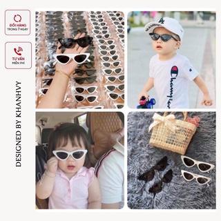 Kính mắt mèo cho bé - KÍNH LOẠI ĐẸP thời trang chống nắng cho bé trai bé gái phong cách năng động cho bé từ 1-6 tuổi thumbnail