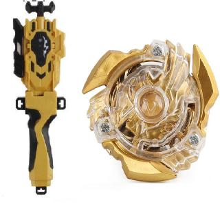 Beyblade Set Burst Limited Edition Gold B-34 Starter Gyro Set w/ Launcher+Grip Kids Gift Toys