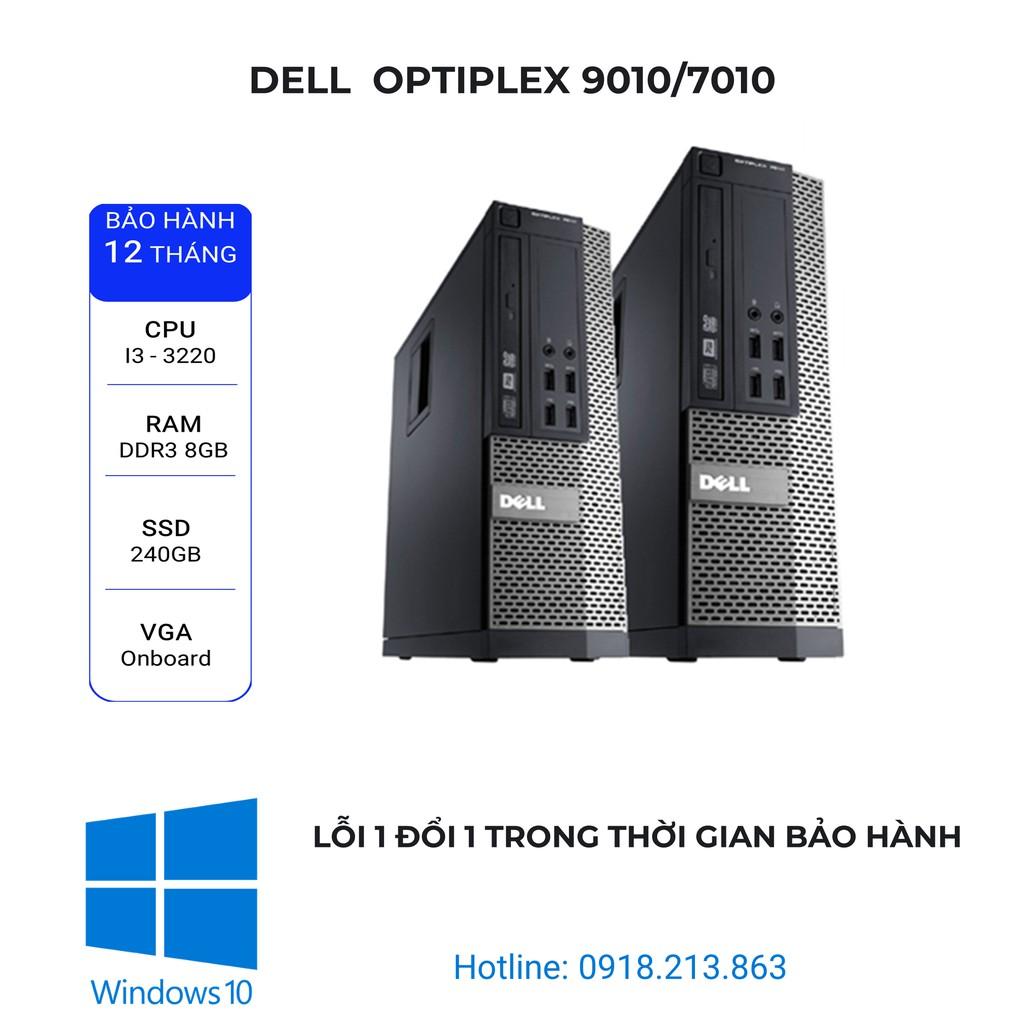 Máy tính đồng bộ Optiplex  Dell 9010/7010. i3 3220/ Ram 8Gb/ SSD 240Gb