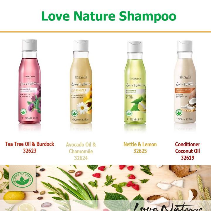 Dầu gội cho tóc gàu Love Nature Shampoo Oriflame 32623 / 32624 / 32625 / 32619 - 2510283 , 682029969 , 322_682029969 , 121000 , Dau-goi-cho-toc-gau-Love-Nature-Shampoo-Oriflame-32623--32624--32625--32619-322_682029969 , shopee.vn , Dầu gội cho tóc gàu Love Nature Shampoo Oriflame 32623 / 32624 / 32625 / 32619