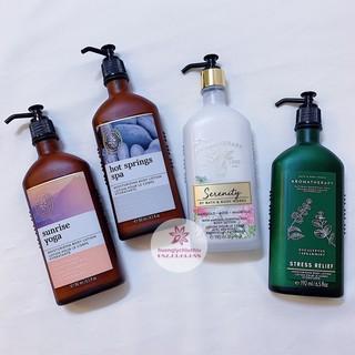 Sữa dưỡng thể tinh dầu thư giãn Bath and body works Aromatherapy thumbnail