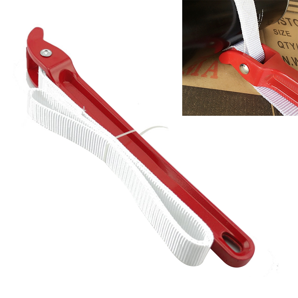 Titan Tool Strap Oil Filter Wrench Non-Marring Nylon Belt Metal Handle HeavyDuty