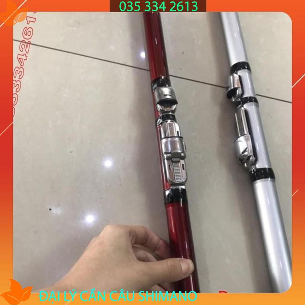 Cần câu lục shimano suft leader 4,2 m - 4,5 m Axt  ( rẻ vô địch ) chuẩn