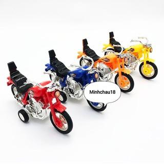 Đồ chơi xe mô tô mini bằng nhựa chạy trớn