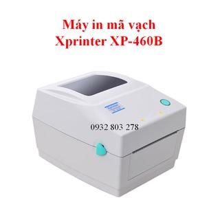 Máy in mã vận đơn TMĐT, in tem vận chuyển, nhãn dán Xprinter 460B thumbnail