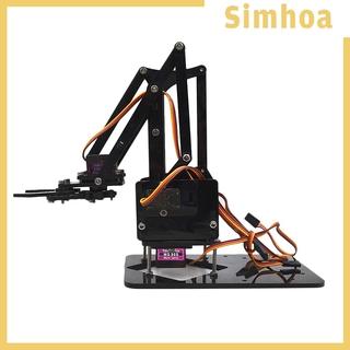 Bộ Phụ Kiện Cánh Tay Và Động Cơ Servo Tự Lắp Ráp Robotics