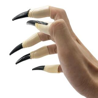 p[keothoi]Bộ móng tay quỷ dạ quang đồ chơi Halloween[trungbienthai]q thị