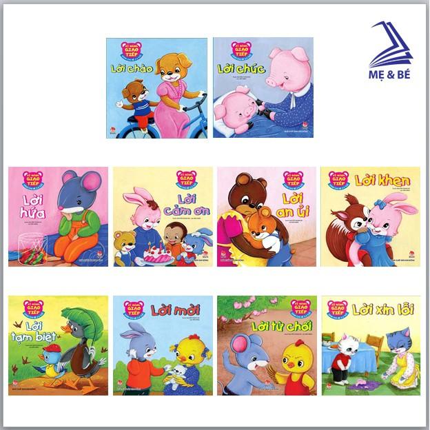 Sách - Phát triển kỹ năng giao tiếp cho bé 2-6 tuổi (Bộ 10 quyển)