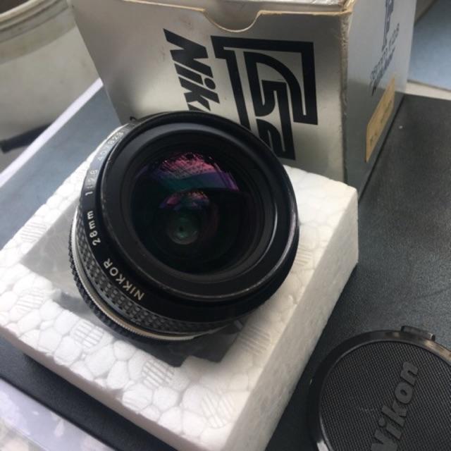 Ống kính (Lens) MF Nikon 28mm f2.8 đời K - chưa mài ngàm - 2809392 , 438271195 , 322_438271195 , 2300000 , Ong-kinh-Lens-MF-Nikon-28mm-f2.8-doi-K-chua-mai-ngam-322_438271195 , shopee.vn , Ống kính (Lens) MF Nikon 28mm f2.8 đời K - chưa mài ngàm