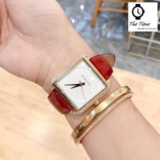 Đồng hồ MK nữ Authentic - Đồng hồ Michael Kors nữ Authentic MK2623 MK2583 MK2610 Dây da các màu thumbnail