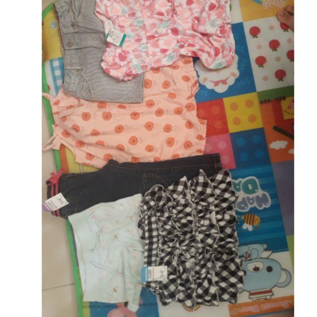 Thanh lý đồ bé gái từ 8kg_20kg