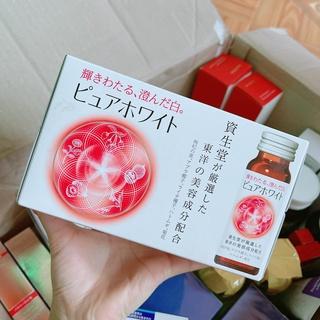 Nước Uống Trắng Da Collagen Shiseido Pure White Nhật Bản thumbnail
