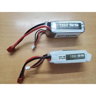 Xuongpinoto Pin 11.1V 1500mah jack chữ T,hàng chưa qua sử dụng,hơi phồng ,chất lượng 80%