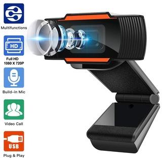 Webcam máy tính laptop livestream có Mic Full HD PC Gaming 720P High Solution , Bảo hành 12 tháng