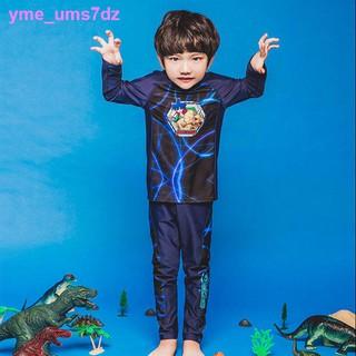 áo tắm chống nắng trẻ em chia đôi bé trai phiên bản Hàn Quốc trung niên quần dài tay học sinh cộng với đồ bơi cỡ thumbnail