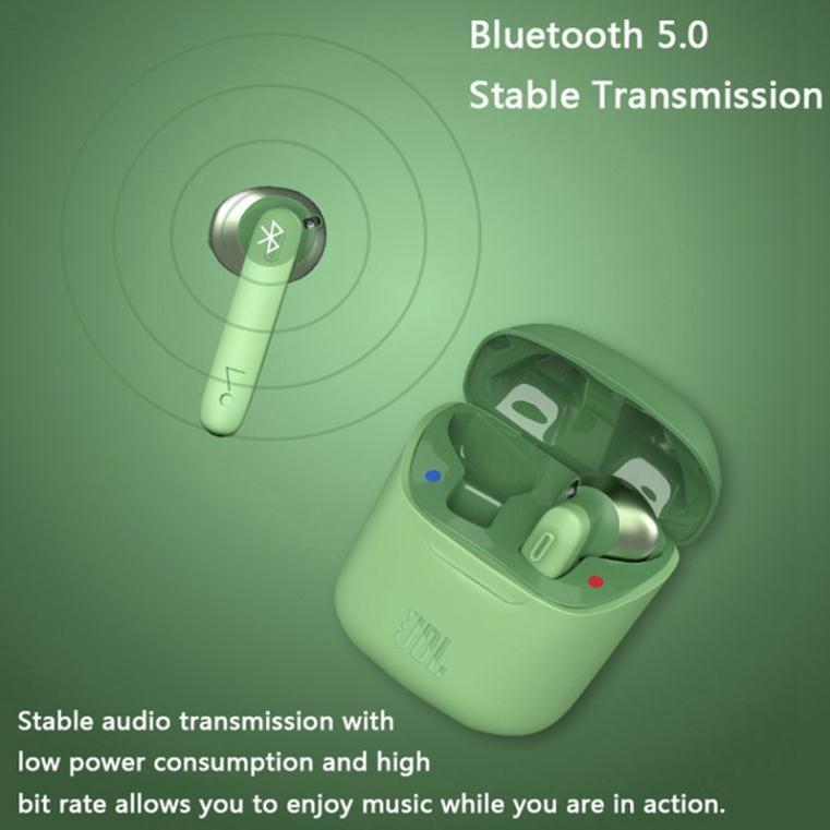Tai nghe bluetooth JBL Tune 220 bản Quốc Tế tai nghe không dây JBL bass treble đỉnh cao chống ồn dùng cho IOS Android