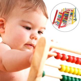 ღBLIღ Kids wooden abacus toys small educational calculator handcrafted [FS]