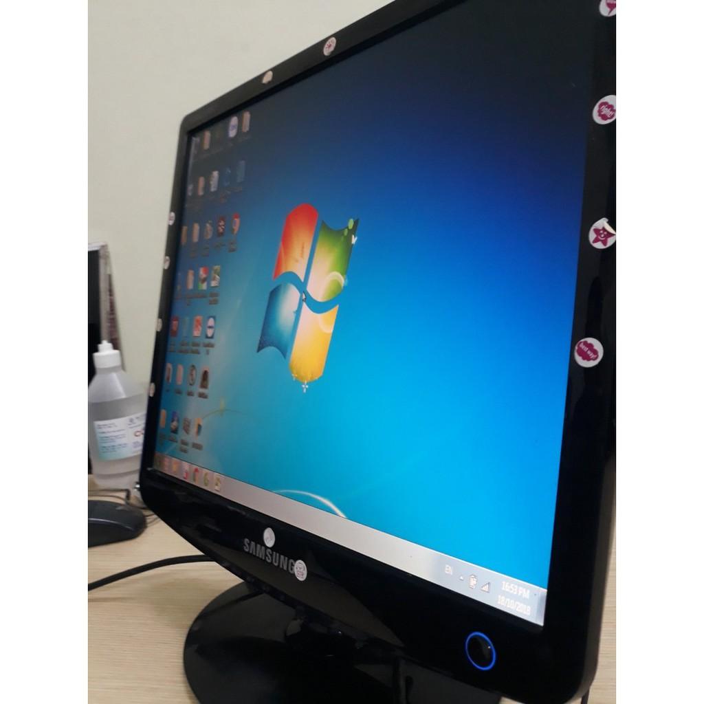 Màn hình máy tính samsungs 17in thanh lý văn phòng hình vuông Giá chỉ 499.000₫