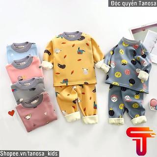 Bộ nỉ bông ấm áp cho bé yêu Phom To 8_20kg Tanosa thumbnail