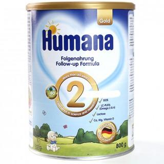 Sữa Humana Gold 2 800gr Date t11 2021