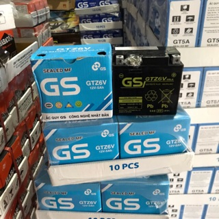 Bình Ắc Quy Khô GS GTZ6V (12V-5Ah) - Dành cho xe tay ga Honda, Yamaha thumbnail