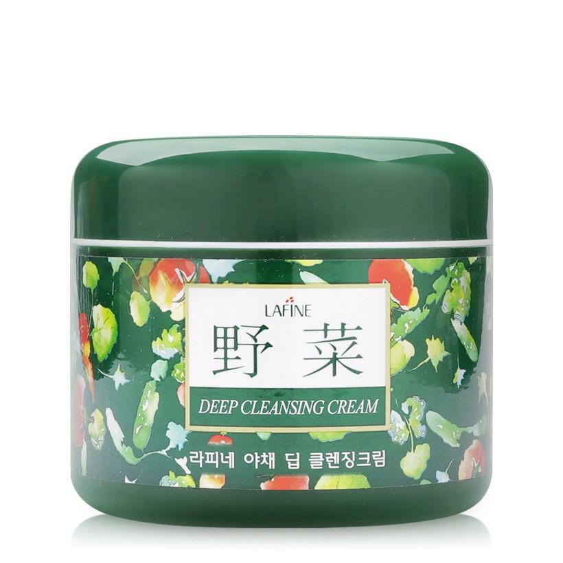 Kem tẩy trang hoa quả Geo Vegetable Deep Cleansing Cream 350g