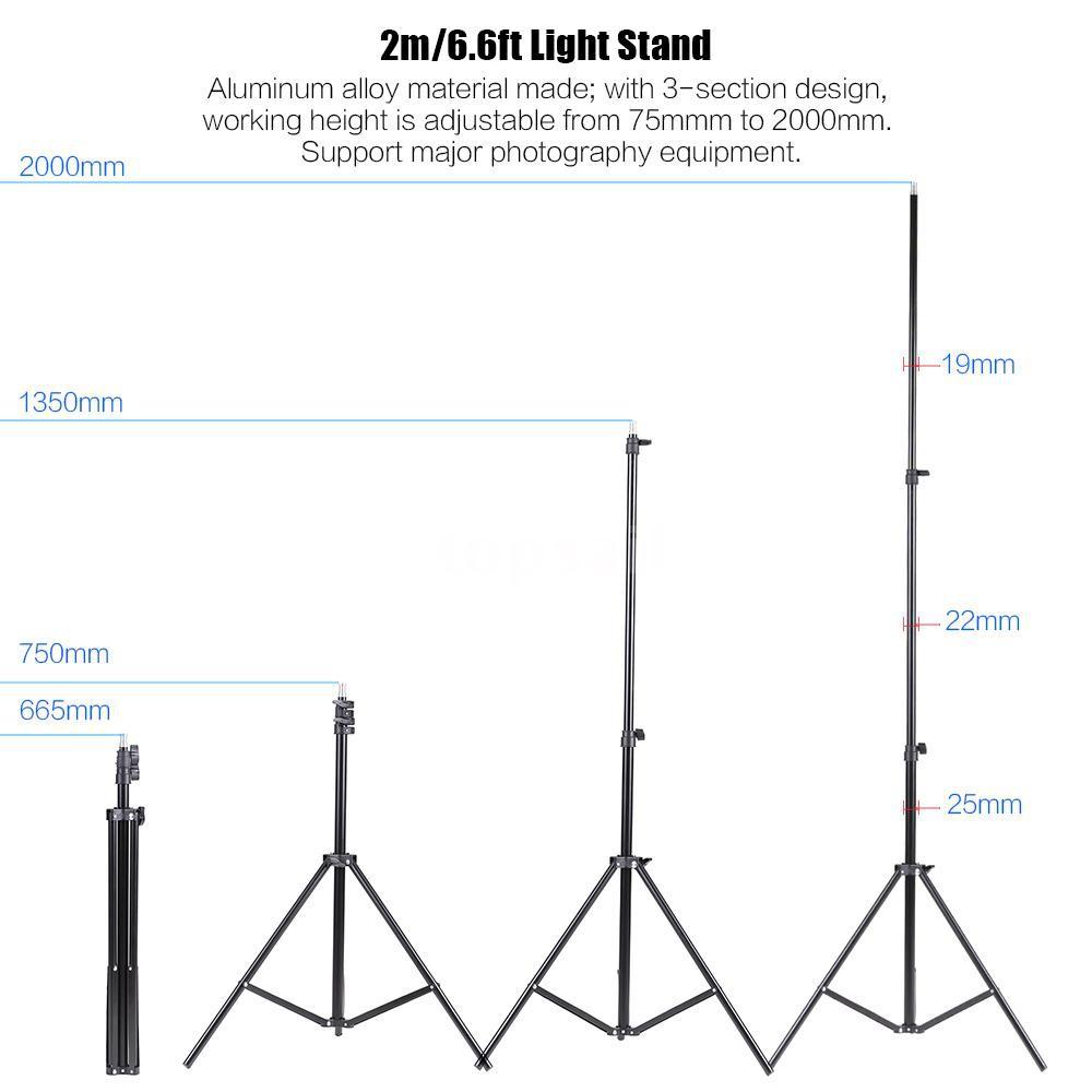 Bộ phụ kiện hỗ trợ ánh sáng chụp hình chuyên nghiệp cho các studio