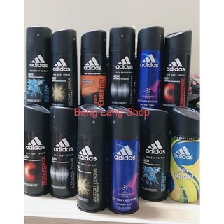 Xịt khử mùi toàn thân Adidas dành cho nam-150ml thumbnail