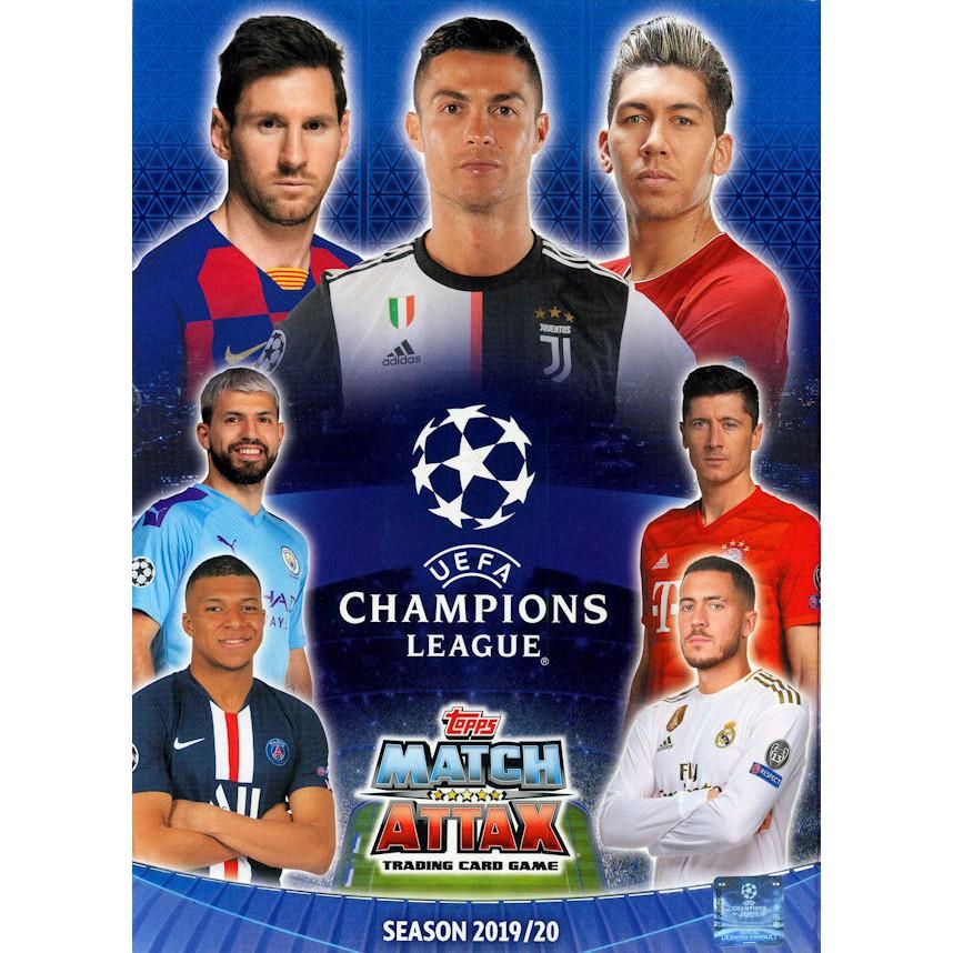 Bộ Sưu Tập 80 Thẻ In Match Attax 2019-20 Poca