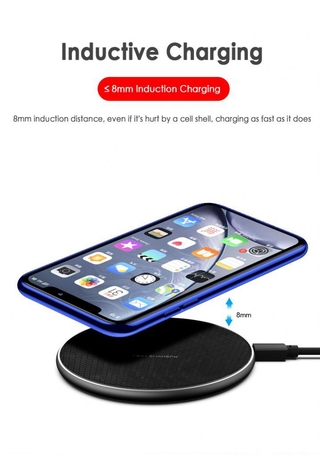 Qi Wireless Charger 5W/10W phone charger wireless Fast Charging Dock Charger for iphone samsung xiaomi huawei P3