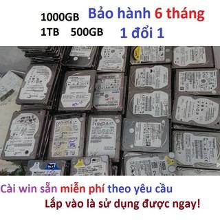 [Mã ELDEC10K giảm 10K đơn 20K] Ổ cứng laptop 1TB hdd 1000GB 500gb hàng kho Nhật rã máy bảo hành 6 tháng thumbnail