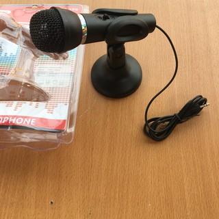 [Mã ELFLASH5 giảm 20K đơn 50K] Micro máy tính thu âm,đàm thoại có chân đế để bàn tiện lợi KTV