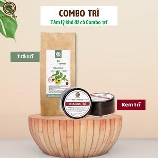 COMBO kem bôi và trà trĩ Đông y gia truyền Thông Cát hỗ trợ trĩ nội, trĩ ngoại, co búi trĩ, teo trĩ các cấp độ thumbnail
