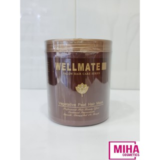 Kem Hấp Dầu Tóc Siêu Mềm Mượt WELLMATE SALON HAIR CARE SERIES 1000ml thumbnail