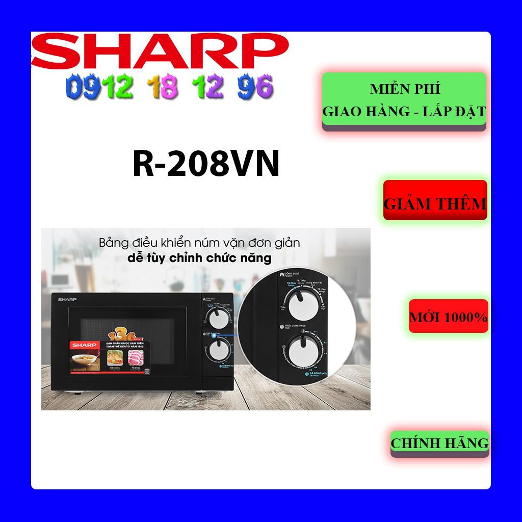 Lò vi sóng Sharp R-208VN-WS 20 lít | SHARP R208VN