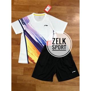 Quần áo cầu lông Lining 3632 trắng (nam,nữ) thumbnail
