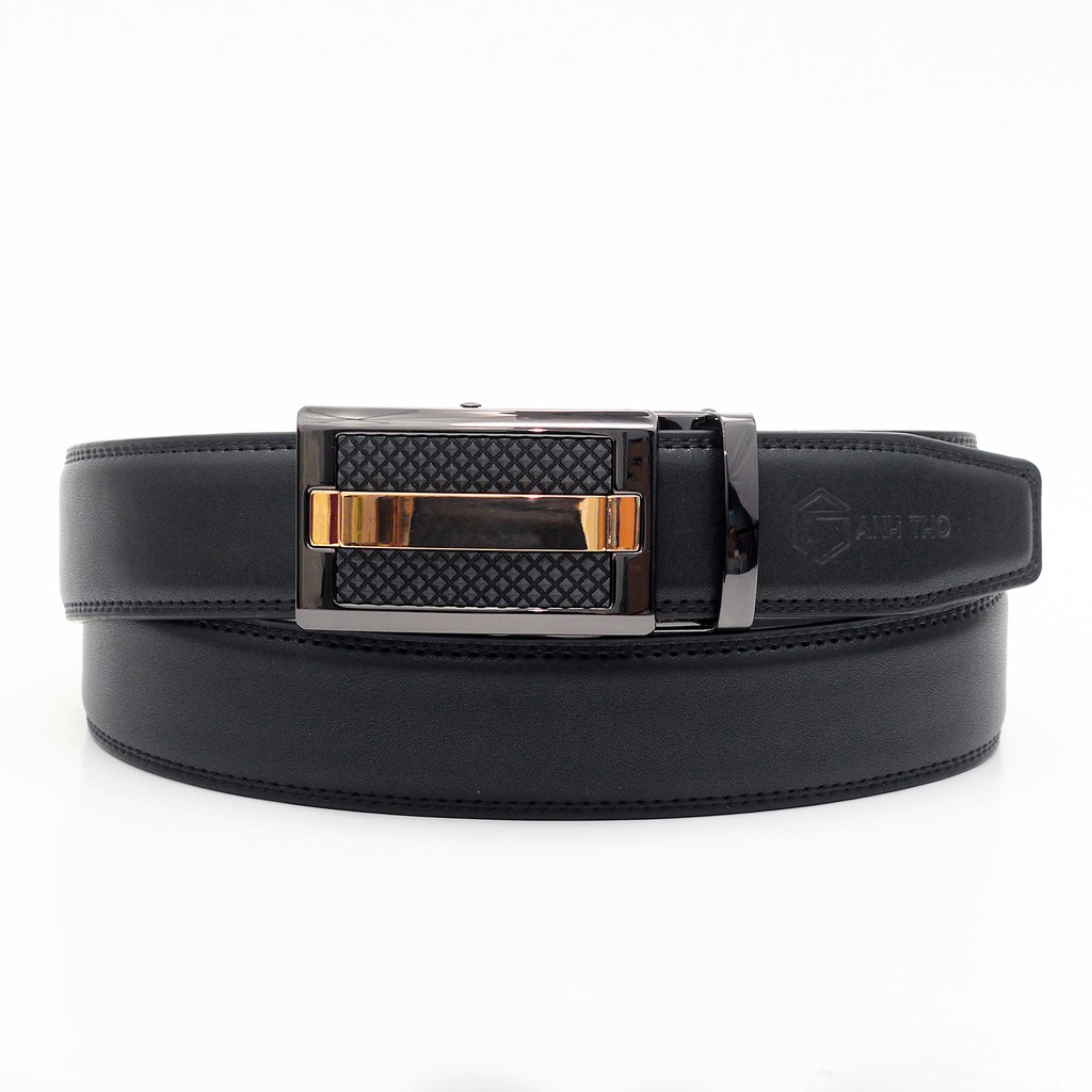 Hình ảnh Thắt lưng nam da bò AT Leather - P115G-5