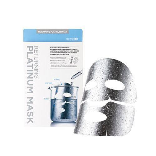 [ Một hộp] Mặt nạ dưỡng trắng da Returning Platinum Mask siêu trắng