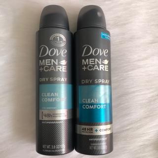👉Xịt khử mùi Dove Men + Care (107g)(mỹ)