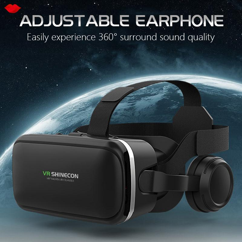 3D VR Glasses VR Headset Glasses Removable Panel 3.5mm Audio Interface Travel Movies Mobile Phone Universal Portable