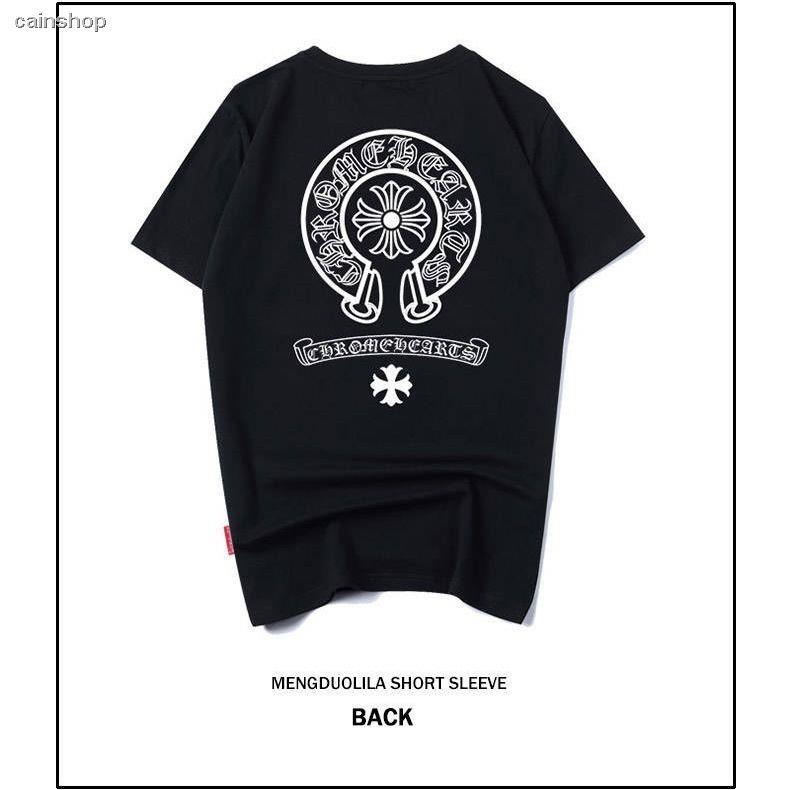 เสื้อยืด street  ♧Men's short sleeve T-shirt male summer fun and wind round collar loose student han edition coat youth
